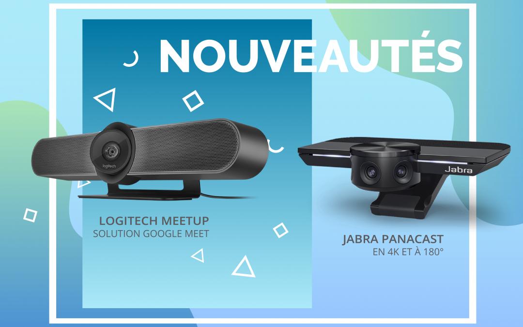 Nouveautés !!! Webcams de visioconférences grand angle