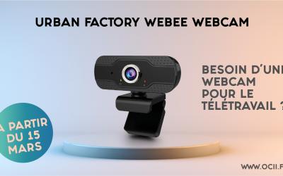 Besoin d'une webcam ? WEBEE Urban Factory